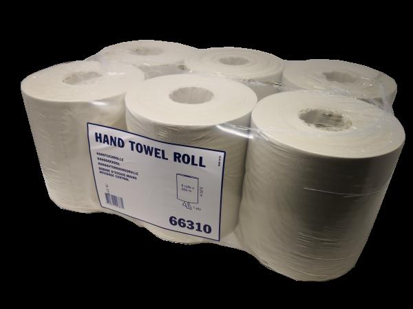 Einmalhandtücher, Handtuchrollen, 6 Stück