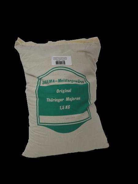 Thüringer Majoran gerebelt 1,5kg Sack