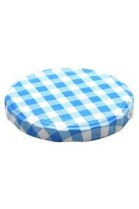 Nockendrehverschluss TO82 blau/weiß Tüte 45Stück