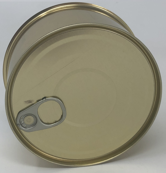 Falzdeckeldose ø 99x50 mm mit Aufreißdeckel, 100 Stück