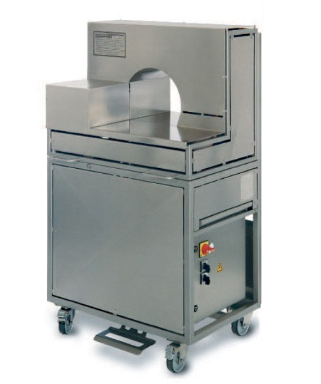 Verschnürmaschine mit Seitenaggregat FRT-S 400