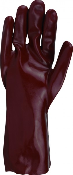 Handschuh PVC rot 270 mm