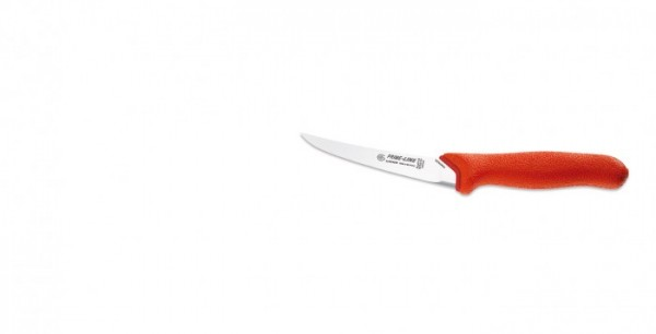 Giesser Ausbeinmesser 11250-13 gebogen, roter Griff