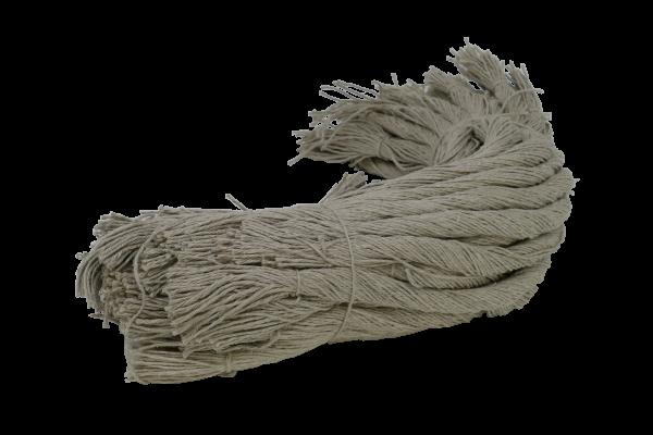 Wurstgarn natur 3,5/3 gedockt, Bund 1 kg