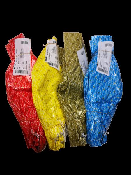 Pastetendarm 115/50 Krone, verschiedene Farben 1 Bund / 25 Stück