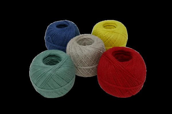 Wurstgarn verschiedene Farben 3,5/3, Rolle 0,2 kg