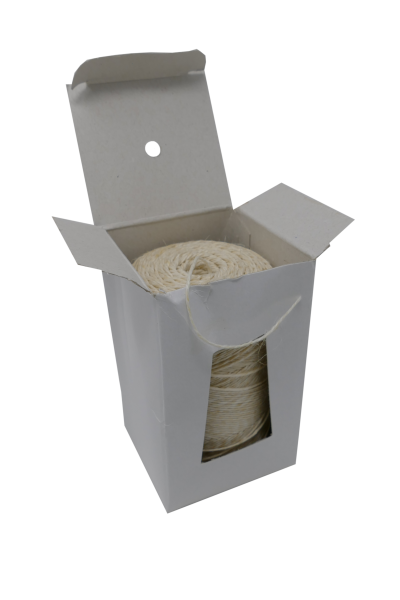 Rollbratenfaden weiß, 2/3,5 verschiedene Farben