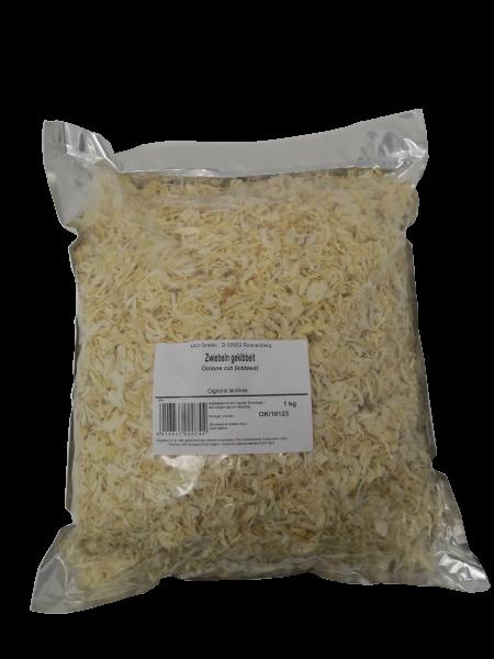 Zwiebeln gekibbelt hell, 1 kg