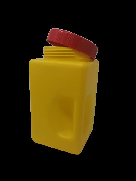 Gewürzdose gelb und/oder passender Deckel rot