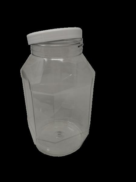 Gewürzdose 8-eckig und/oder Deckel, 3 Liter, 100er Schraubverschluss