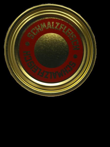 Falzdeckel ø 99 mm Schmalzfleisch