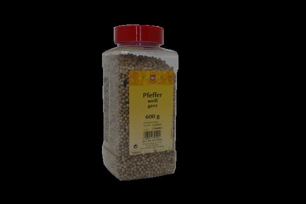Pfeffer weiß ganz in Gastrobox, 600g