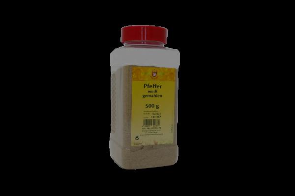 Pfeffer weiß in Gastrobox, 500g