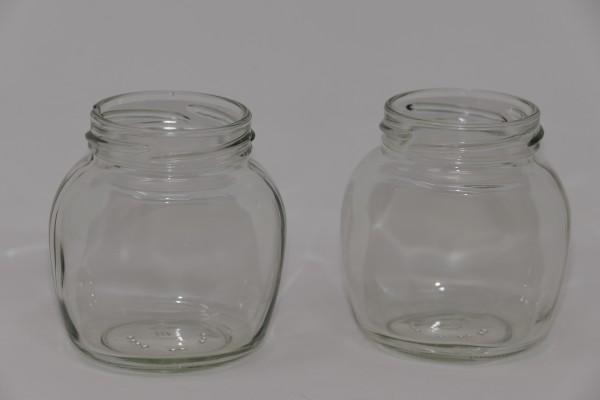 Verpackungsglas oval 212 ml TO 58