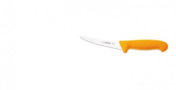 Giesser Ausbeinmesser 2505-13 halbflexibel, gebogen, gelber Griff