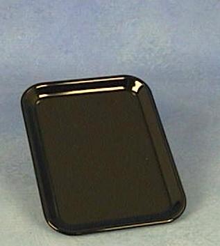Melamin Auslegeplatte schwarz, verschiedene Größen