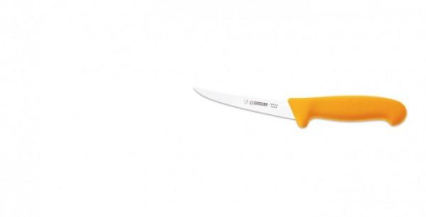 Giesser Ausbeinmesser 2535-13 flexibel, gebogen, gelber Griff