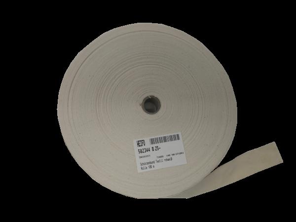 Schürzenband Textil rohweiß, 100 Meter